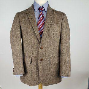 Stanley Blacker Harris Tweed Mens Sport Coat